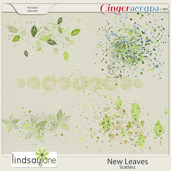 New Leaves Scatterz by Lindsay Jane