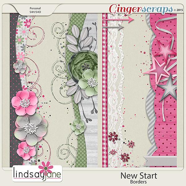 New Start Borders by Lindsay Jane
