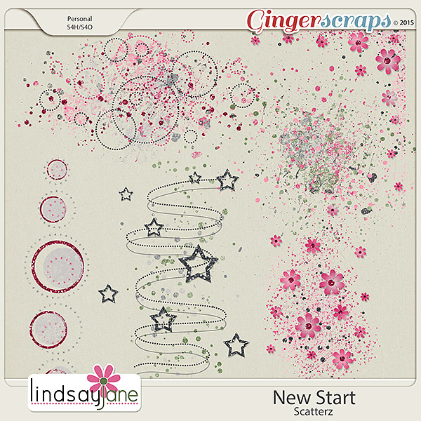 New Start Scatterz by Lindsay Jane