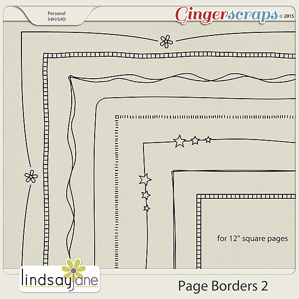 Page Borders 2 by Lindsay Jane