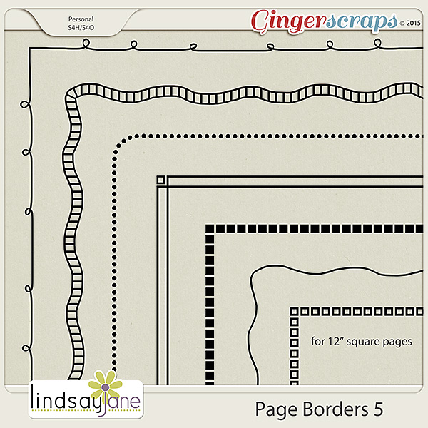 Page Borders 5 by Lindsay Jane