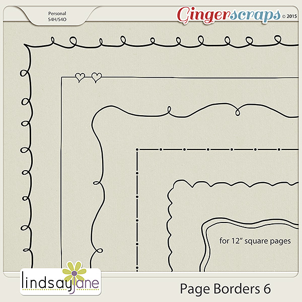 Page Borders 6 by Lindsay Jane