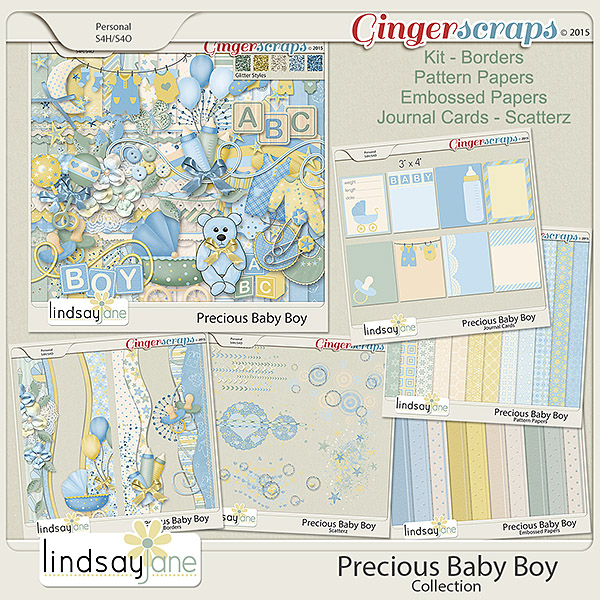 Precious Baby Boy Collection by Lindsay Jane