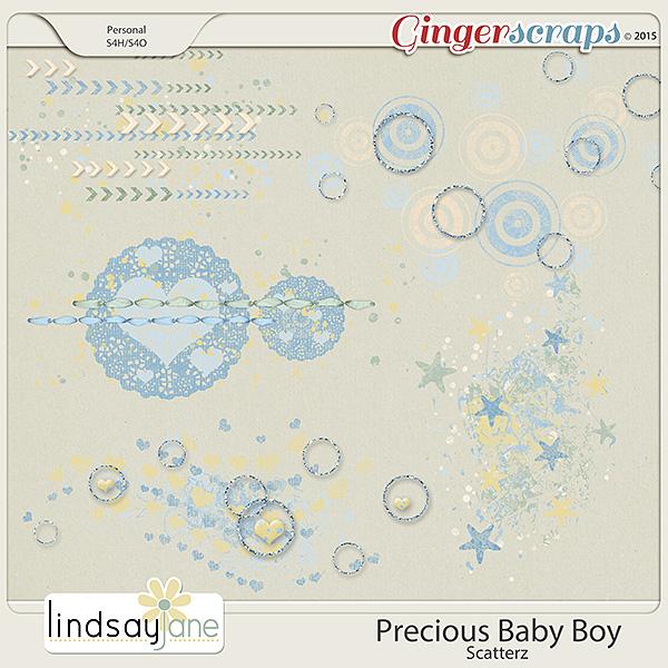 Precious Baby Boy Scatterz by Lindsay Jane