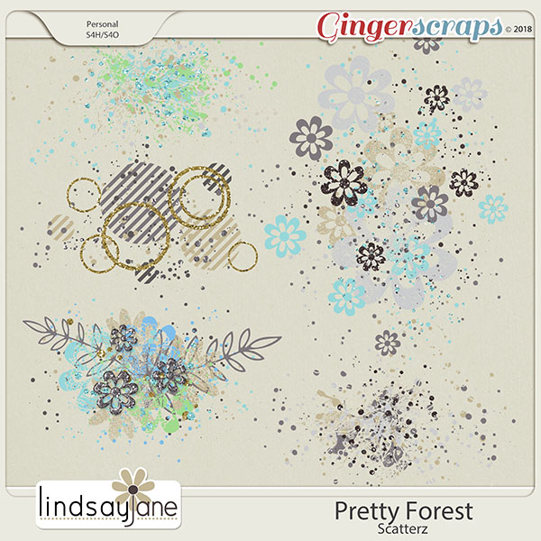 Pretty Forest Scatterz by Lindsay Jane