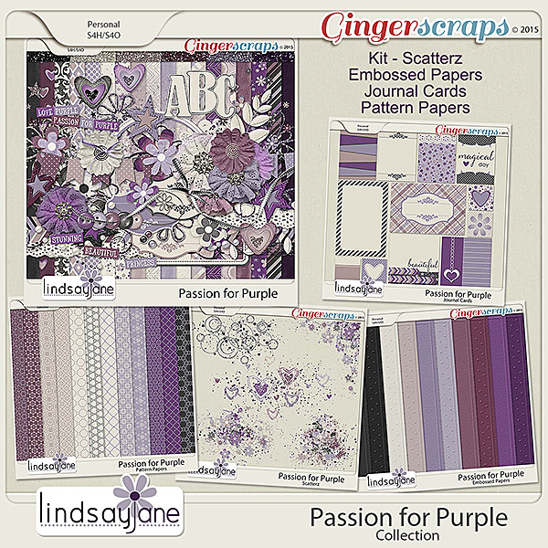 Passion for Purple Collection by Lindsay Jane