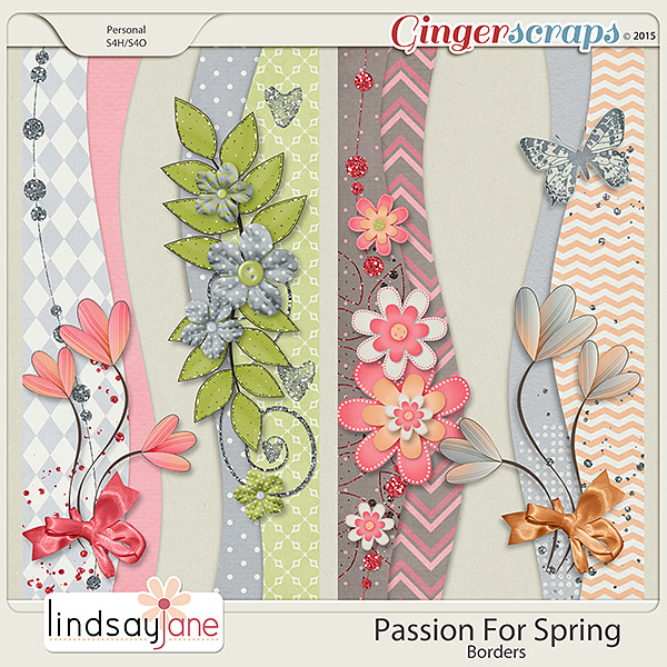 Passion For Spring Borders by Lindsay Jane