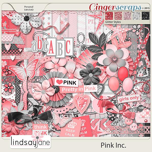 Pink Inc by Lindsay Jane