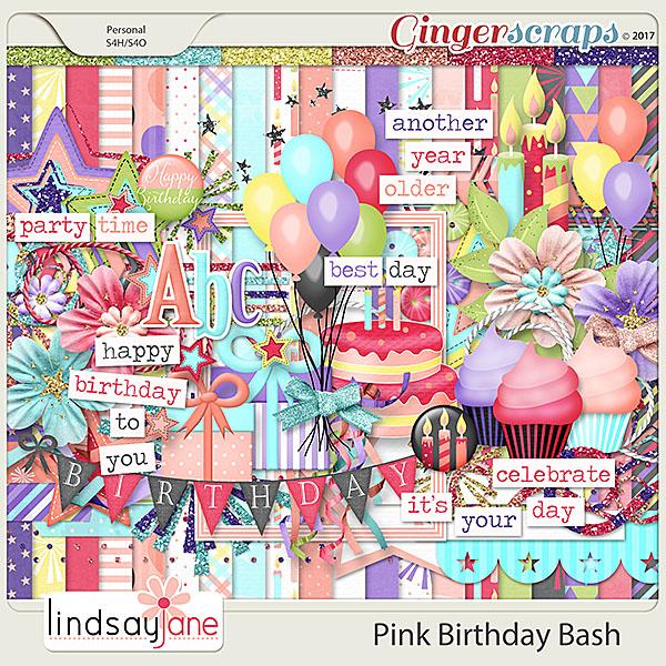 Pink Birthday Bash by Lindsay Jane