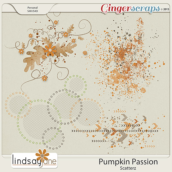 Pumpkin Passion Scatterz by Lindsay Jane