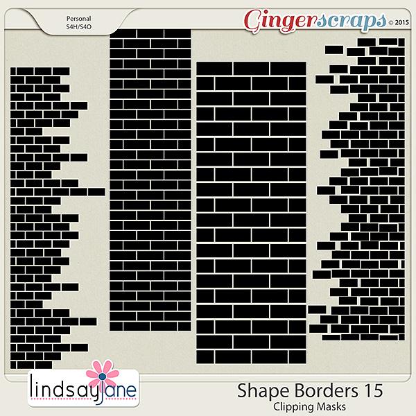 Shape Borders 15 by Lindsay Jane