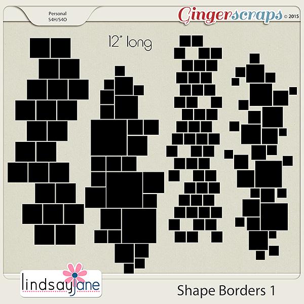 Shape Borders 1 by Lindsay Jane