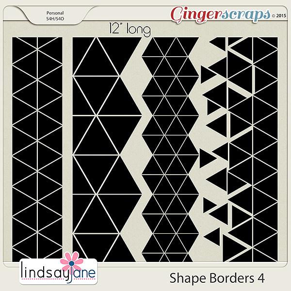 Shape Borders 4 by Lindsay Jane