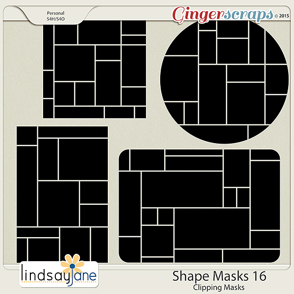 Shape Masks 16 by Lindsay Jane