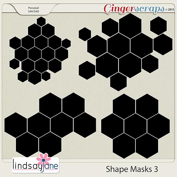Shape Masks 3 by Lindsay Jane