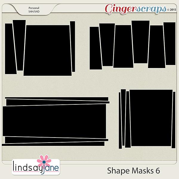 Shape Masks 6 by Lindsay Jane