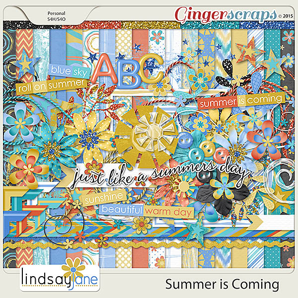 Summer is Coming by Lindsay Jane