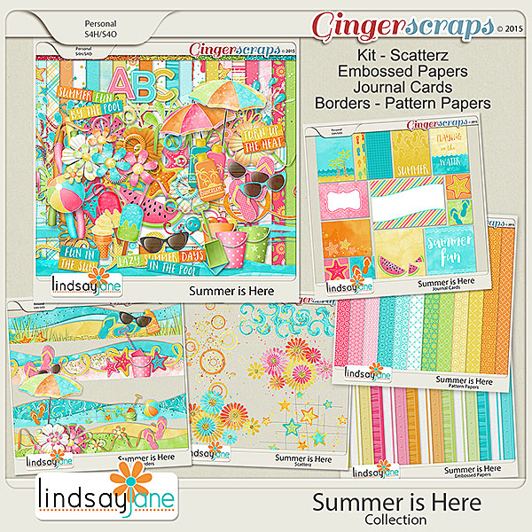 Summer is Here Collection by Lindsay Jane