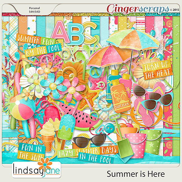 Summer is Here by Lindsay Jane