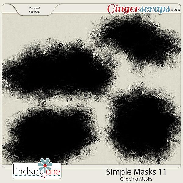 Simple Masks 11 by Lindsay Jane