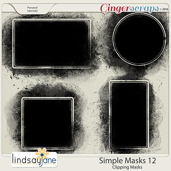 Simple Masks 12 by Lindsay Jane