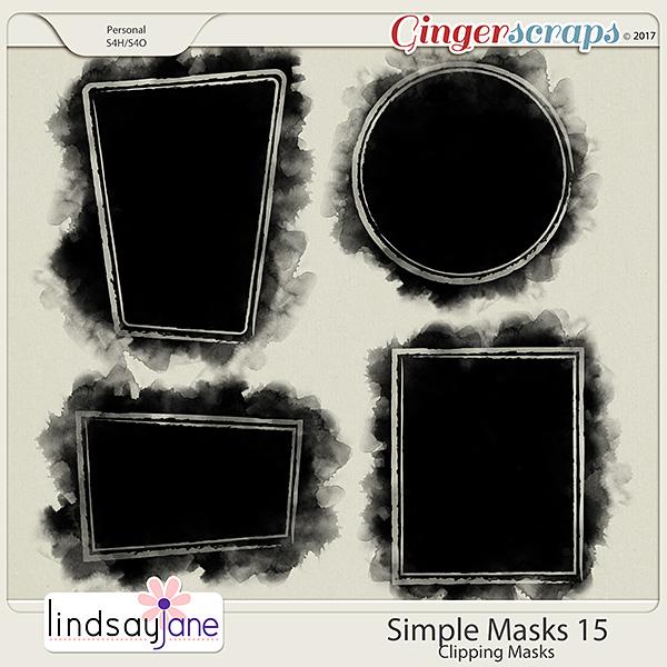 Simple Masks 15 by Lindsay Jane