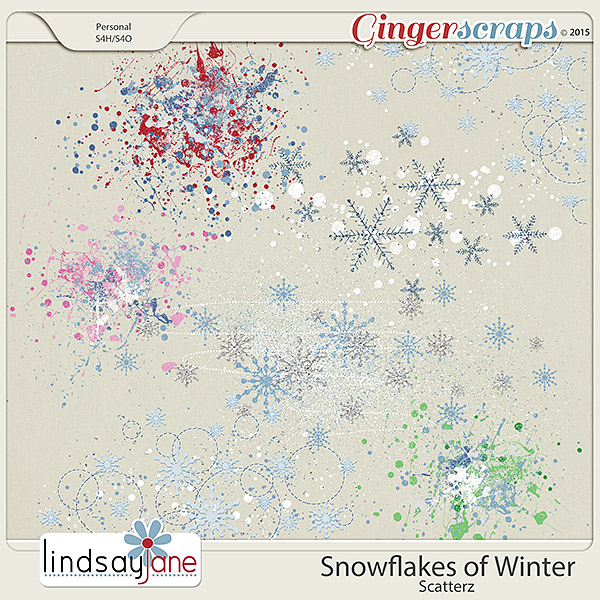 Snowflakes of Winter Scatterz by Lindsay Jane
