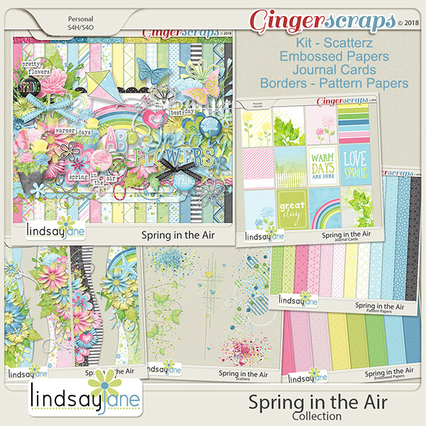 Spring in the Air Collection by Lindsay Jane