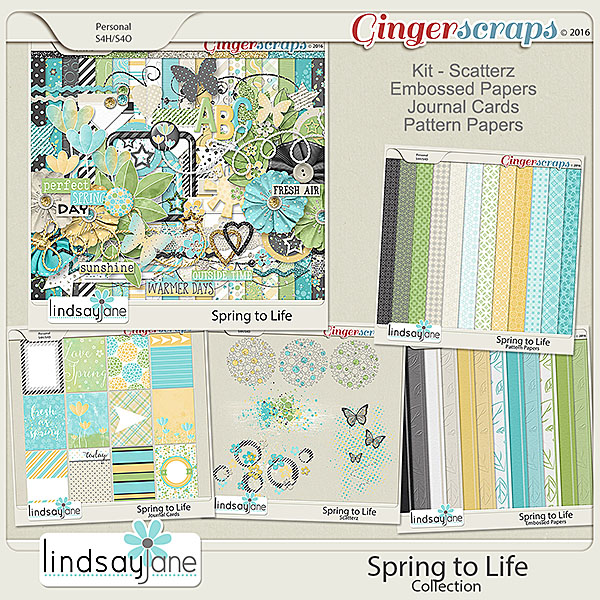 Spring to Life Collection by Lindsay Jane