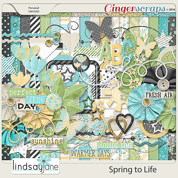 Spring to Life by Lindsay Jane