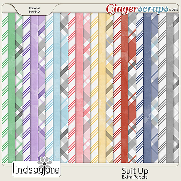 Suit Up Extra Papers by Lindsay Jane