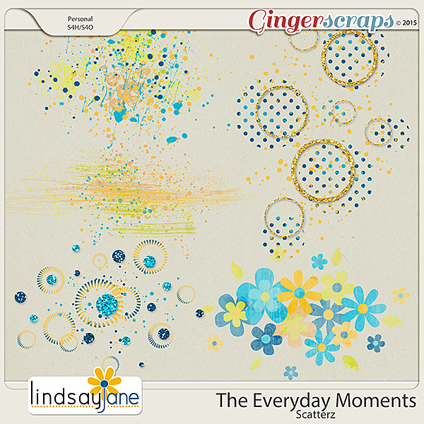 The Everyday Moments Scatterz by Lindsay Jane