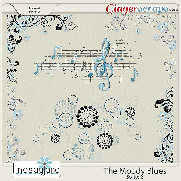 The Moody Blues Scatterz by Lindsay Jane