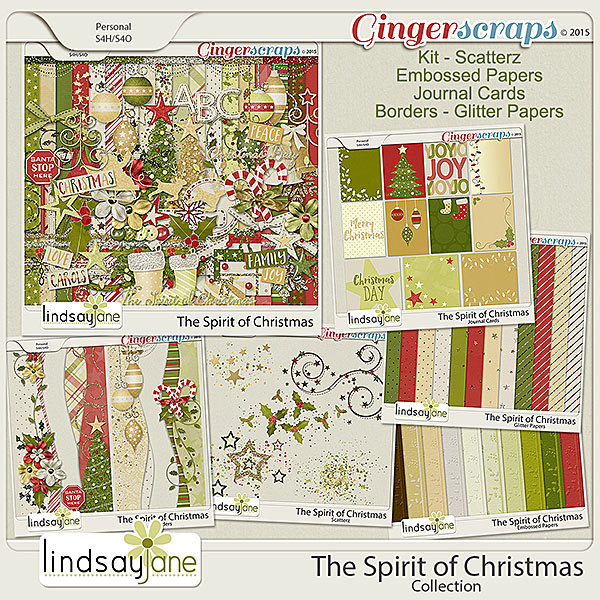 The Spirit of Christmas Collection by Lindsay Jane