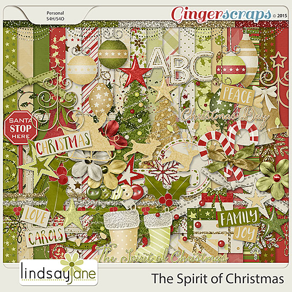 The Spirit of Christmas by Lindsay Jane