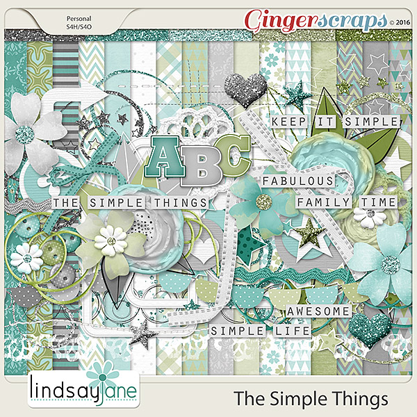 The Simple Things by Lindsay Jane
