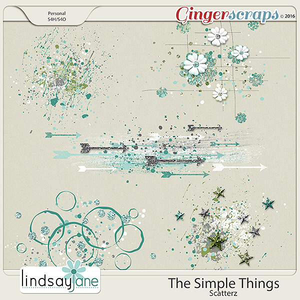 The Simple Things Scatterz by Lindsay Jane