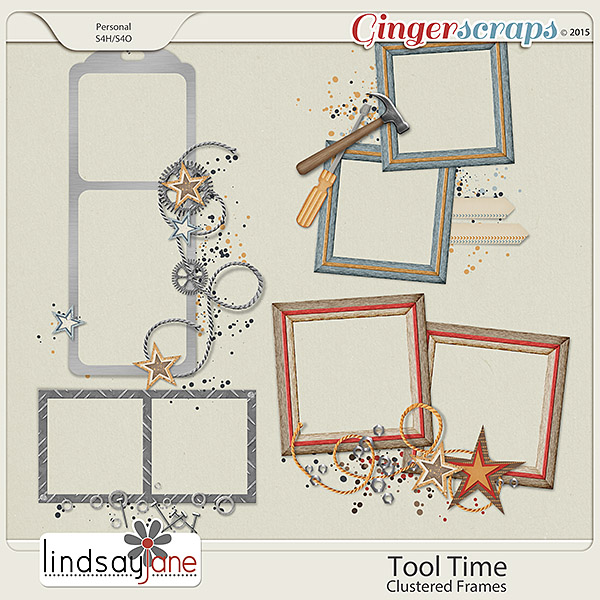 Tool Time Frames by Lindsay Jane