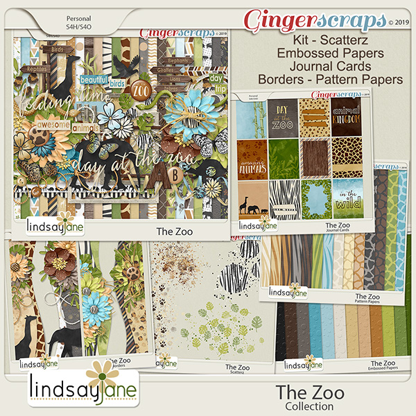 The Zoo Collection by Lindsay Jane