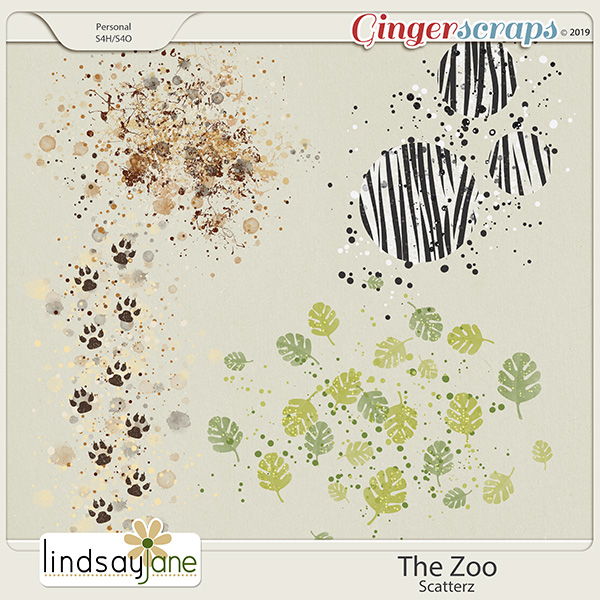 The Zoo Scatterz by Lindsay Jane