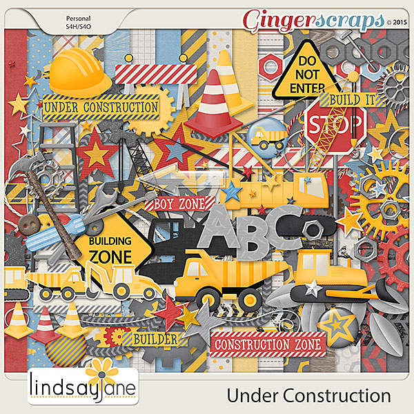 Under Construction by Lindsay Jane