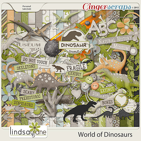 World of Dinosaurs by Lindsay Jane