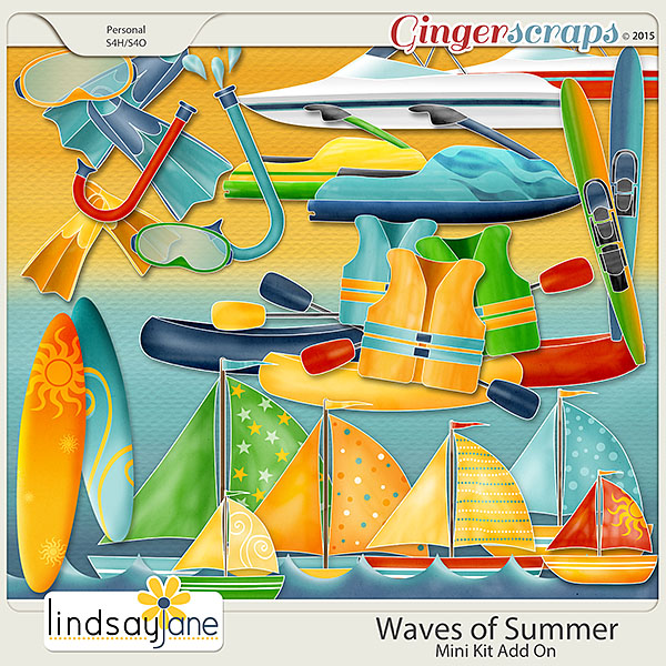 Waves of Summer Mini Add On by Lindsay Jane