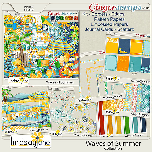 Waves of Summer Collection by Lindsay Jane