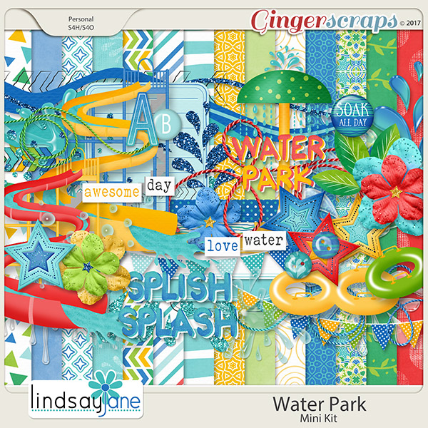 Water Park by Lindsay Jane