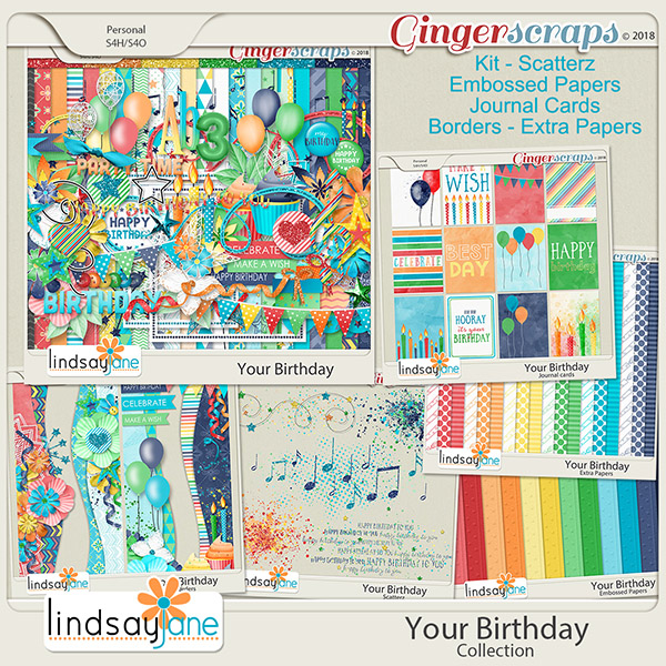 Your Birthday Collection by Lindsay Jane