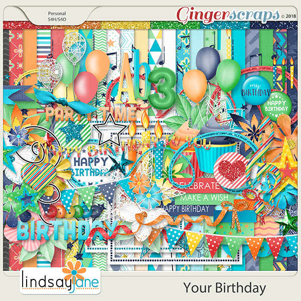 Your Birthday by Lindsay Jane
