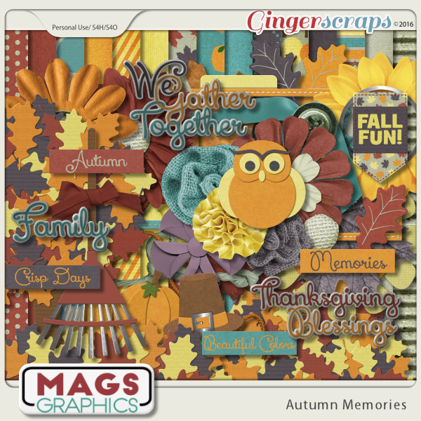 Autumn Memories KIT by MagsGraphics