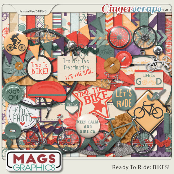 Ready To Ride Bikes KIT by MagsGraphics