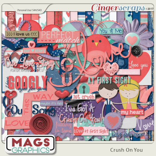 Crush On You KIT by MagsGraphics